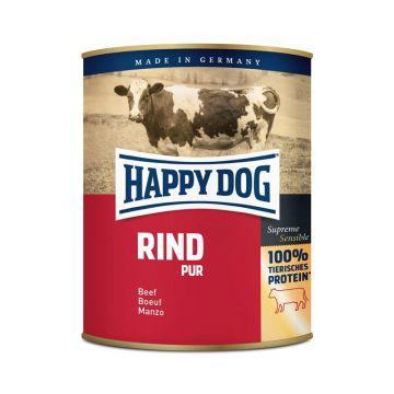 Happy Dog Dose Rind Pur 800g (Menge: 6 je Bestelleinheit)