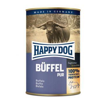 Happy Dog Dose Büffel Pur 400g (Menge: 12 je Bestelleinheit)