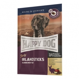 Happy Dog Tasty Irland Sticks (Kaustange mit Kaninchen) 3x10g