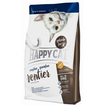 Happy Cat Sensitive Grainfree Rentier 4 kg