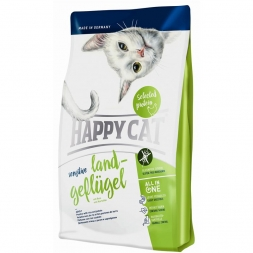 Happy Cat Sensitive Land-Geflügel 4 kg