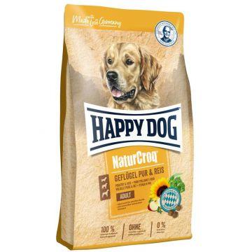 Happy Dog NaturCroq Geflügel pur & Reis 4kg