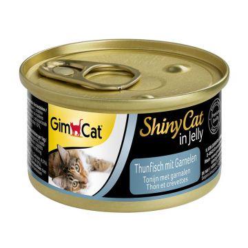 Gimpet Cat Dose ShinyCat Thunfisch mit Garnelen 70g (Menge: 24 je Bestelleinheit)