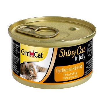 Gimpet Cat Dose ShinyCat Thunfisch mit Hühnchen 70g (Menge: 24 je Bestelleinheit)