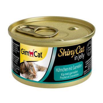 Gimpet Cat Dose ShinyCat Hühnchen mit Garnelen 70g (Menge: 24 je Bestelleinheit)