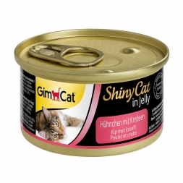 Gimpet Cat Dose ShinyCat Hühnchen mit Krebsen 70g (Menge: 24 je Bestelleinheit)