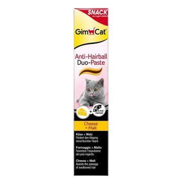 Gimpet Cat Anti-Hairball Duo Paste Käse & Malz 50g