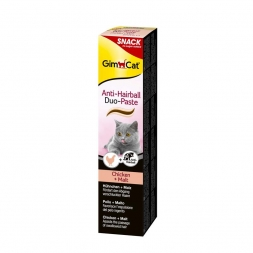 Gimpet Cat Anti-Hairball Duo-Paste Huhn & Malz 200g