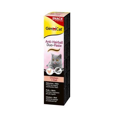 Gimpet Cat Anti-Hairball Duo-Paste Huhn & Malz 200g