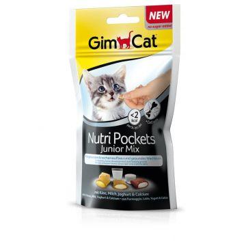 Gim. Cat Nutri Pockets Junior Mix 60g