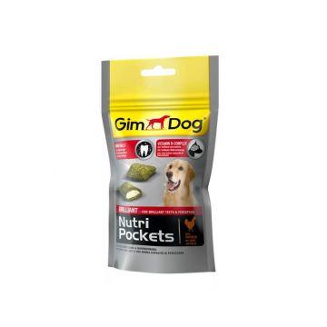 Gimpet Dog Nutri Pockets Brilliant 45g
