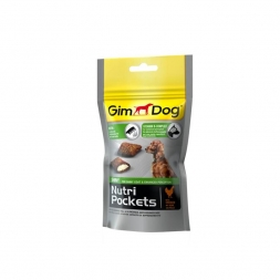Gimpet Dog Nutri Pockets Shiny 45g