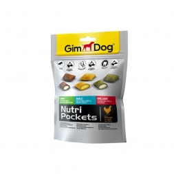 Gimpet Dog Nutri Pockets Mix 150g