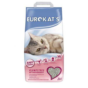 Eurokats mit Babypuder 20 Liter