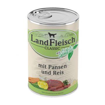 Landfleisch Dog Pur Pansen & Reis 400 g (Menge: 12 je Bestelleinheit)