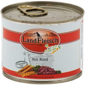 LandFleisch Cat Dose Schlemmertopf Rind mit Frisch-Gemüse 195g (Menge: 12 je Bestelleinheit)