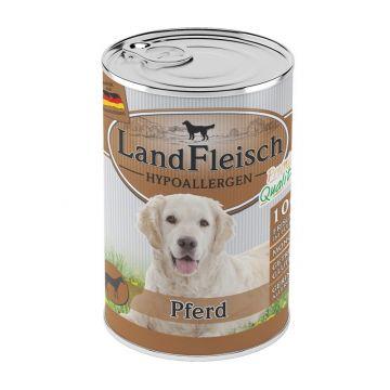 LandFleisch Dog Hypoallergen Pferd 400 g (Menge: 12 je Bestelleinheit)