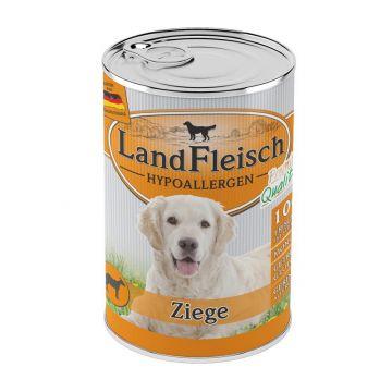 LandFleisch Dog Hypoallergen Ziege 400 g (Menge: 12 je Bestelleinheit)