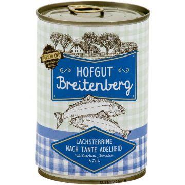 Hofgut Breitenberg Lachsterrine nach Tante Adelheid mit Zucchini, Tomaten & Dill 400g (Menge: 6 je Bestelleinheit)