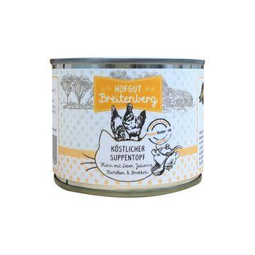 Hofgut Breitenberg Cat köstlicher Suppentopf 180g (Menge: 12 je Bestelleinheit)