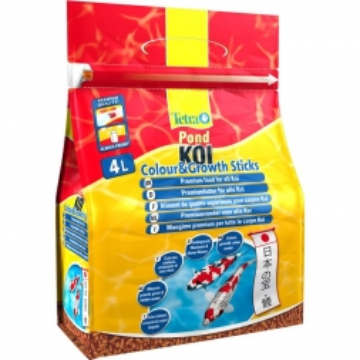 Tetra Pond Koi Sticks Colour & Growth 4 l