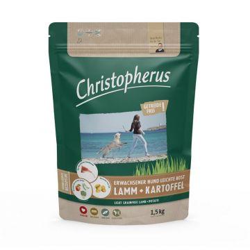 Christopherus Getreidefrei Erwachsener Hund Leichte Kost Lamm & Kartoffel 1,5kg
