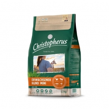 Christopherus Erwachsener Hund MINI Geflügel,Lamm, Ei & Reis 1,5kg