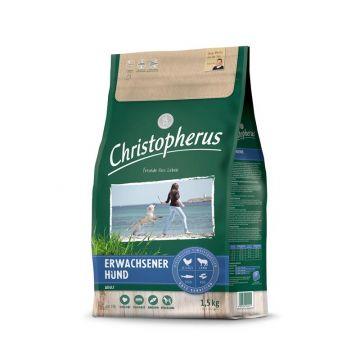 Christopherus Erwachsener Hund Geflügel,Lamm, Ei & Reis 1,5kg
