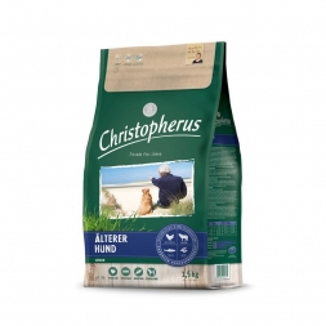 Christopherus Älterer Hund Geflügel, Lamm, Ei, Reis  1,5kg