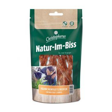 Christopherus Snack Natur-Im-Biss Hähnchenfiletstreifen 70g (Menge: 12 je Bestelleinheit)