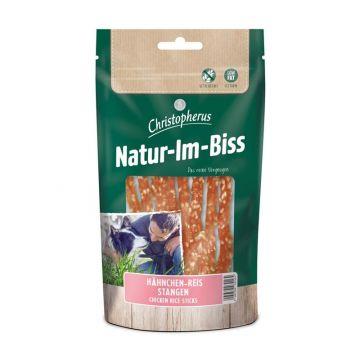 Christopherus Snack Natur-Im-Biss Hähnchen-Reis-Stangen 60g (Menge: 12 je Bestelleinheit)