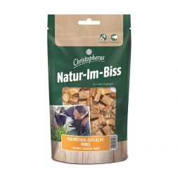 Christopherus Snack Natur-Im-Biss Hähnchen-Seelachs Minis 70g (Menge: 12 je Bestelleinheit)