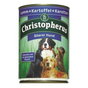 Christopherus Dose Älterer Hund Lamm, Kartoffeln & Karotten 400g (Menge: 6 je Bestelleinheit)