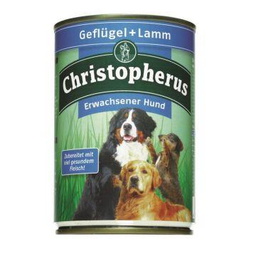 Christopherus Dose Geflügel & Lamm 400g (Menge: 6 je Bestelleinheit)