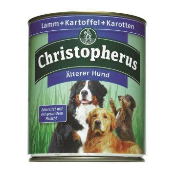 Christopherus Dose Älterer Hund Lamm, Kartoffeln & Karotten 800g (Menge: 6 je Bestelleinheit)