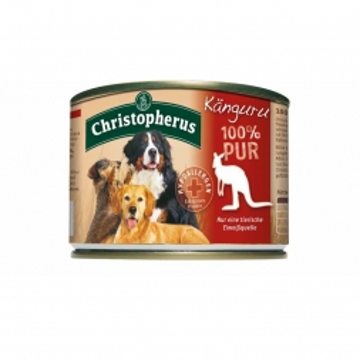 Christopherus Dose Känguru pur 200g (Menge: 6 je Bestelleinheit)