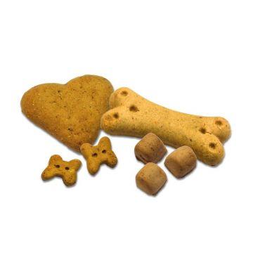 Allco Dog Premium Hundekuchen Truthahn & Cranberry Herzen 10kg