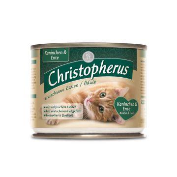 Christopherus Cat Dose Adult Kaninchen & Ente 200g (Menge: 6 je Bestelleinheit)