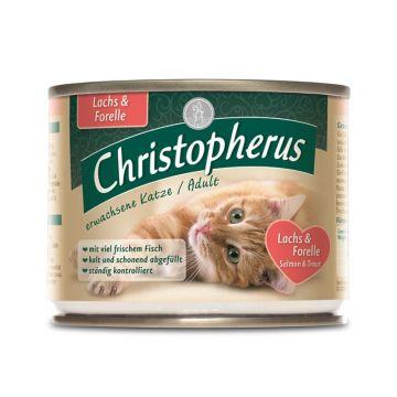 Christopherus Cat Dose Adult Lachs & Forelle 200g (Menge: 6 je Bestelleinheit)