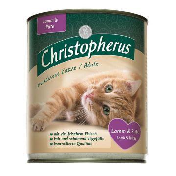 Christopherus Cat Dose Adult Lamm & Pute 800g (Menge: 6 je Bestelleinheit)