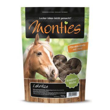 Monties Snack Lakritze Sticks - gepresst 700g (Menge: 6 je Bestelleinheit)