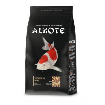 AL-KO-TE Fisch Futter Teichsticks bunt 4 mm in der Tüte 1kg