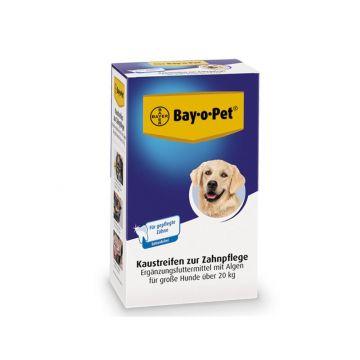 Bay-o-Pet Zahnpflege Kaustreifen mit Alge, große Hund 140g