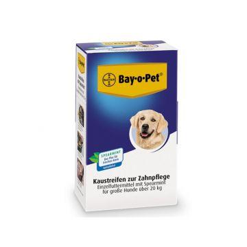 Bay-o-Pet Zahnpflege Kaustreifen Spearmint großer Hund 140g