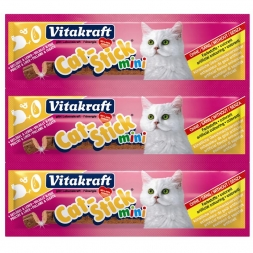 Vitakraft Cat-Stick mini Geflügel & Leber 3er Pack