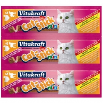Vitakraft Cat-Stick mini Truthahn & Lamm Inhalt: 3 Stück