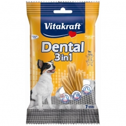 Vitakraft Dental 3 in 1 Größe: XS, bis 5 kg, 7 Sticks