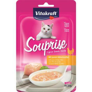 Vitakraft Souprise mit purem Hühnchenfilet 4 x 20 g