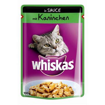 Whiskas mit Kaninchen in Sauce 100g (Menge: 24 je Bestelleinheit)