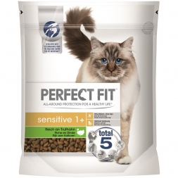 Perfect Fit Cat Sensitive 1+ reich an Truthahn 750g